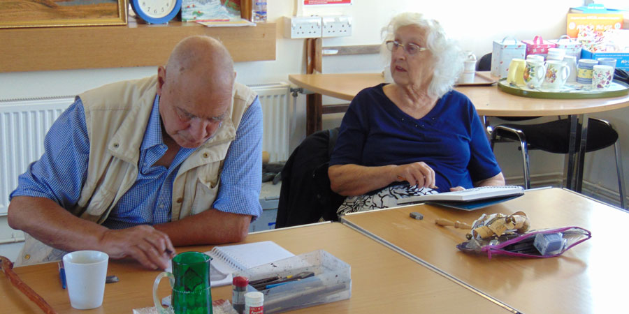 Would you like to join one of our art groups?&nbsp;&nbsp;<a href='Activities.php#GroupsAccordion'>Click Here!</a>