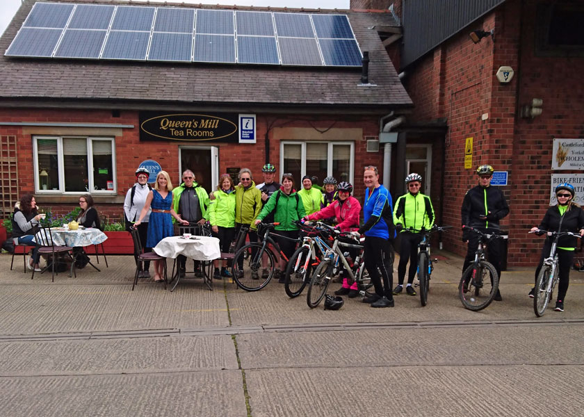 The Queen's Mill Cyclists