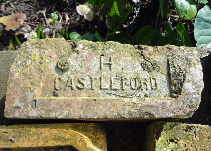 The Castleford brick seen at Devonshire Mill