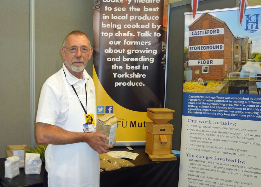 John Parker on our stand at The Great Yorkshire Show