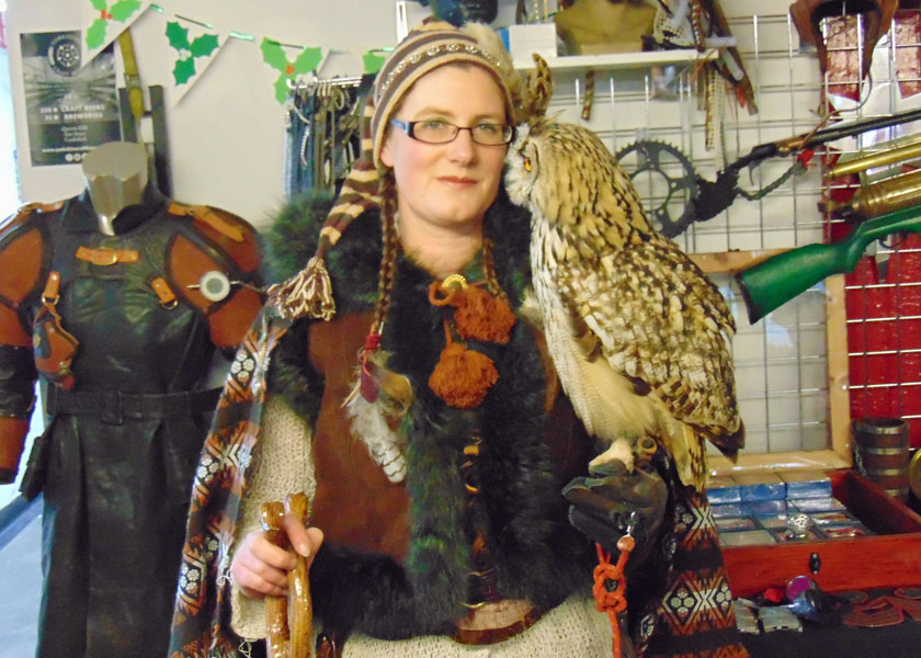 The Owl Lady