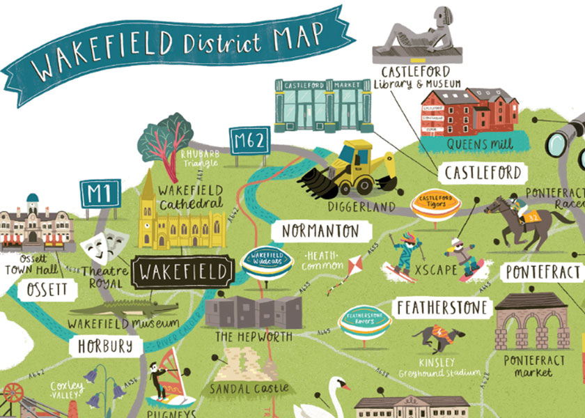 Details of the Wakefield Map.