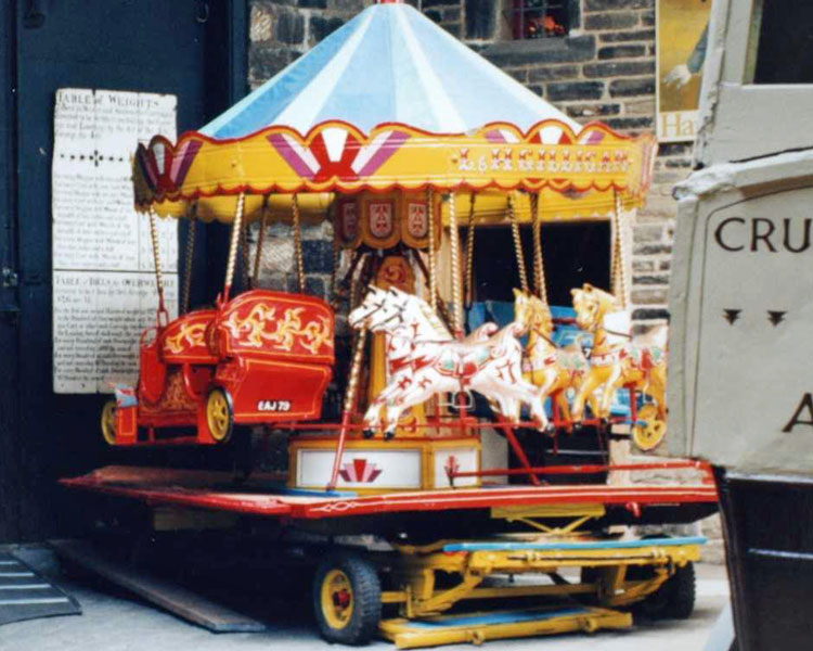The carousel at Kirkstall
